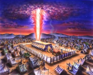 Israelite Camp and Tabernacle