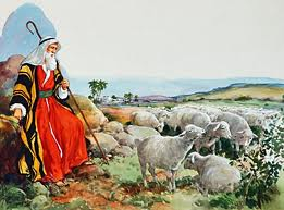Moses Tending Sheep