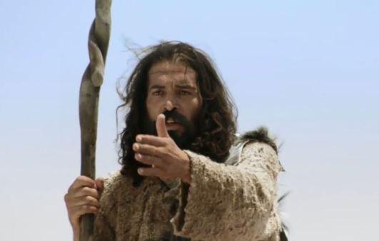 John The Baptizer preaching