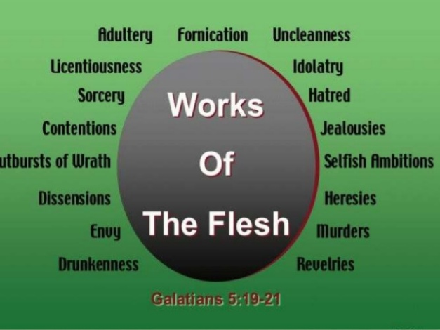 works of the flesh
