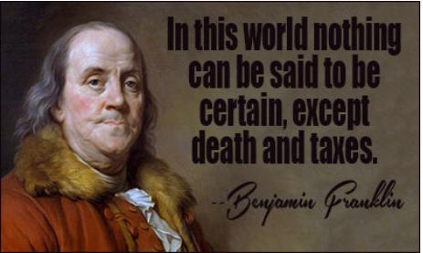 Taxes and Death