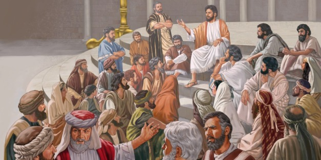 Final Teaching In the Temple