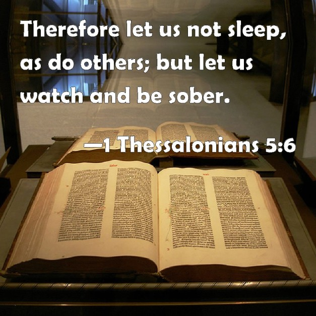 I Thessalonians 5 6