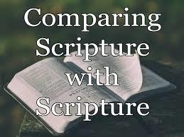 Scripture with Scripture
