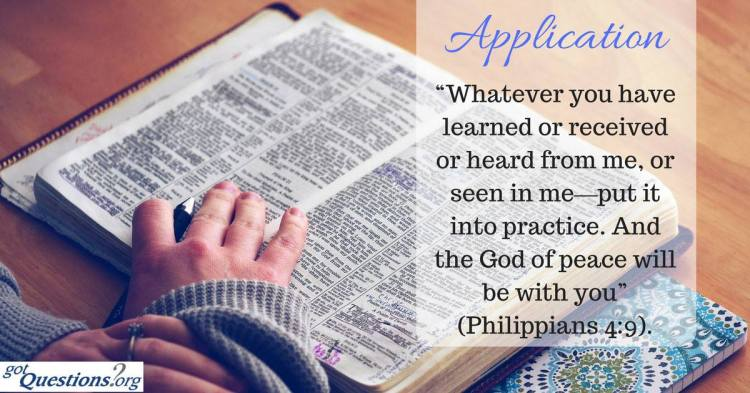 applying-the-Bible